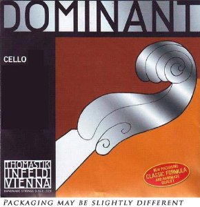 Thomastik Dominant 4/4 Cello G String Medium Silver-Perlon